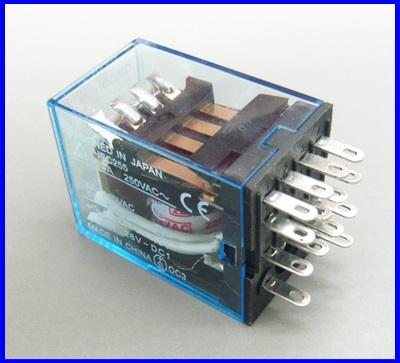 รีเลย์ไฟฟ้า รีเลย์Omron relay MY4NJ 5A Control Voltage 220V AC