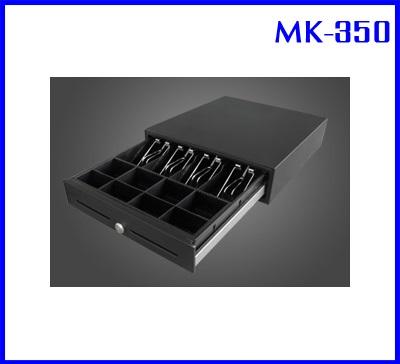 ลิ้นชักเก็บเงินสด ลิ้นชักเก็บธนบัตร เครื่องเก็บเงิน Cash drawer Cash box MK-350 (ใช้ธนบัตรไทยได้ 4 ช่อง)