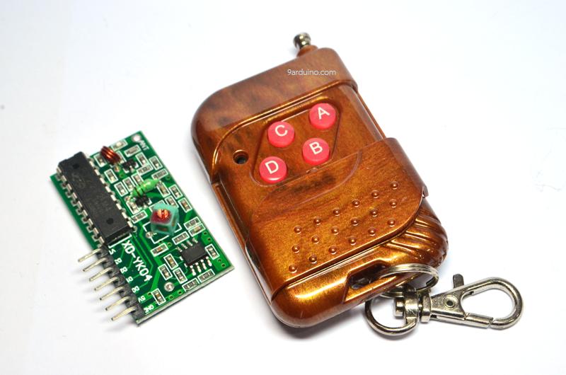 Remote Arduino ควบคุมระยะไกล XD-YK04