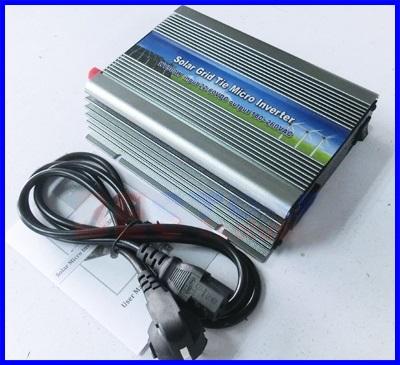 โซล่าร์ ไมโครอินเวอร์เตอร์ ไมโครกริดอินเวอร์เตอร์ Micro grid tied Inverter 300W MPPT DC Input 22-50V Output 220VAC