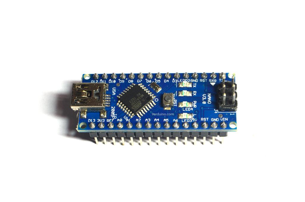 Arduino Nano 3.0 Mini USB พร้อมสาย USB