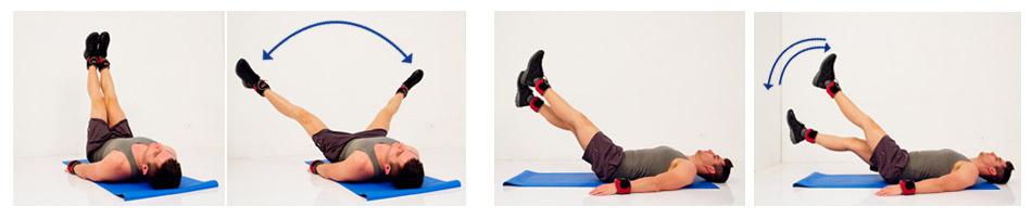 ท่าการออกกำลังกาย โดยใช้ชุดถ่วงเอนกประสงค์