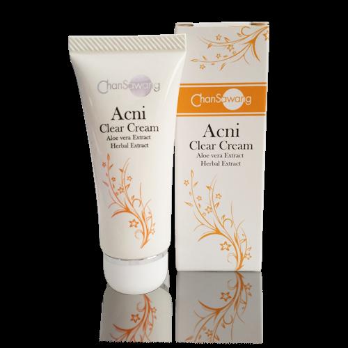 ครีมแต้มสิว (Acne Clear Cream)