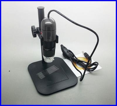 กล้อง ไมโครสโคป USB Microscope 600X ความละเอียด 1.3M (ขาตั้งยาว พร้อมซอฟแวร์วัดขนาด)