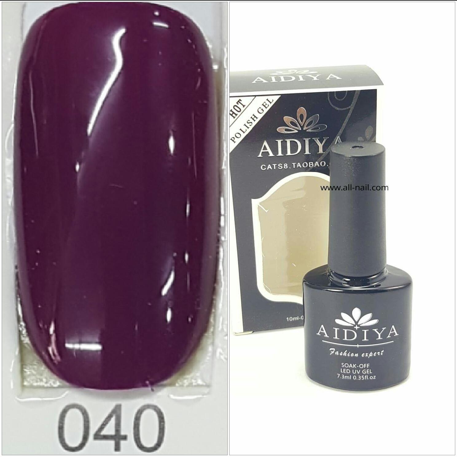 สีเจลทาเล็บ AIDIYA #040