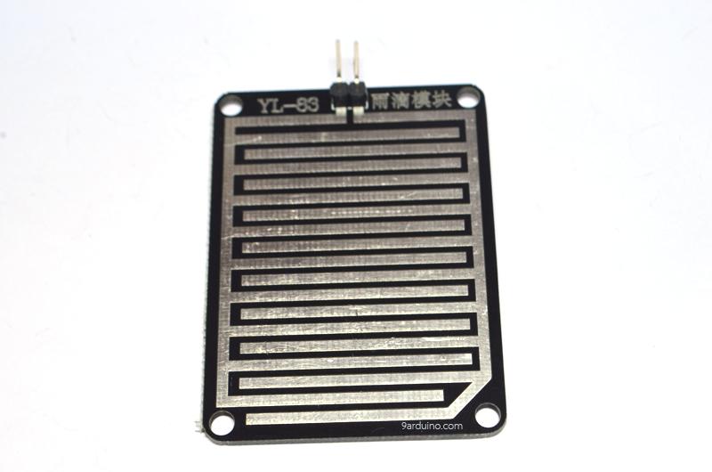 Rain Sensor Modules Arduino