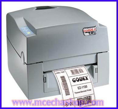 เครื่องพิมพ์บาร์โค้ด บาร์โค้ดปริ้นเตอร์ เครื่องปริ้นท์บาร์โค้ด เครื่องทำบาร์โค้ด เครื่องพิมพ์บาร์โค๊ด Godex EZ-1100Plus Barcode Printer