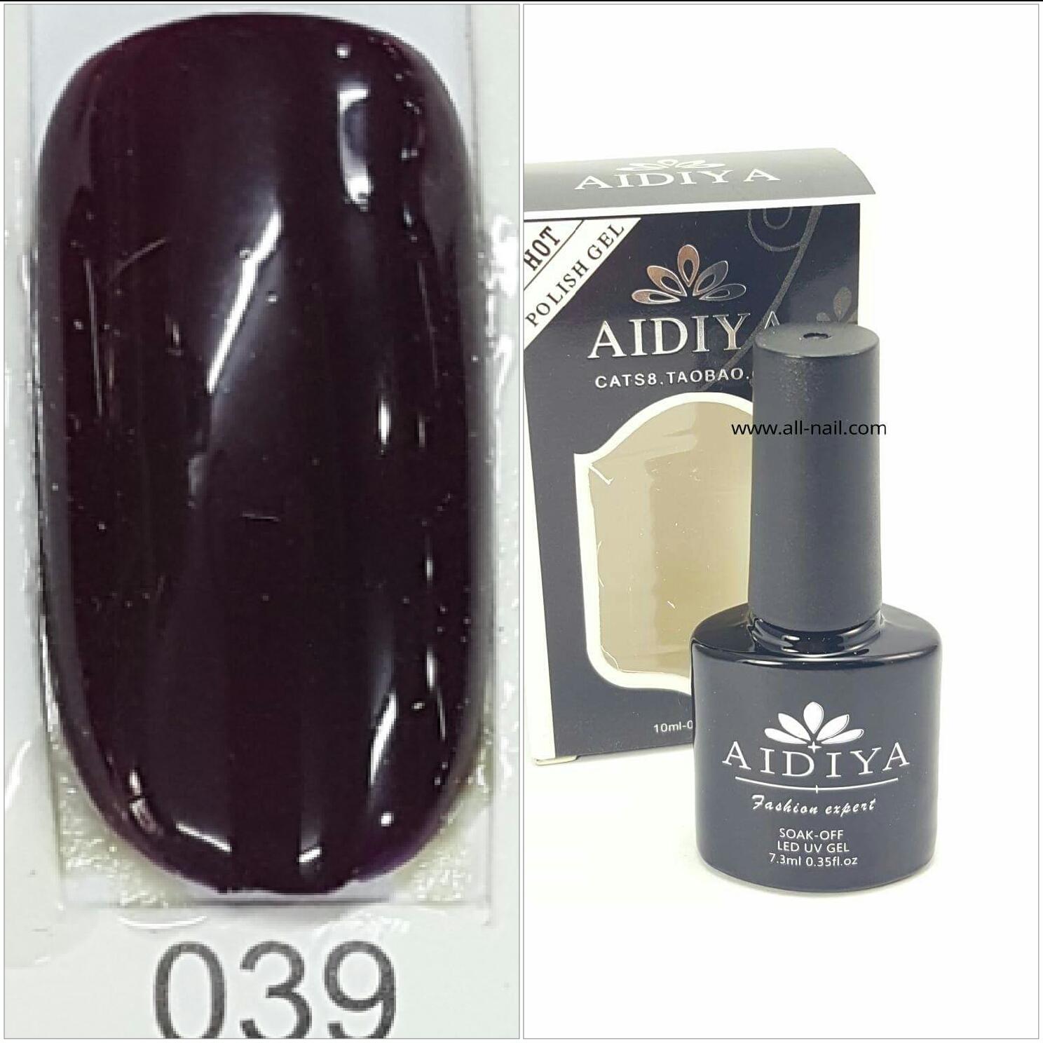 สีเจลทาเล็บ AIDIYA #039