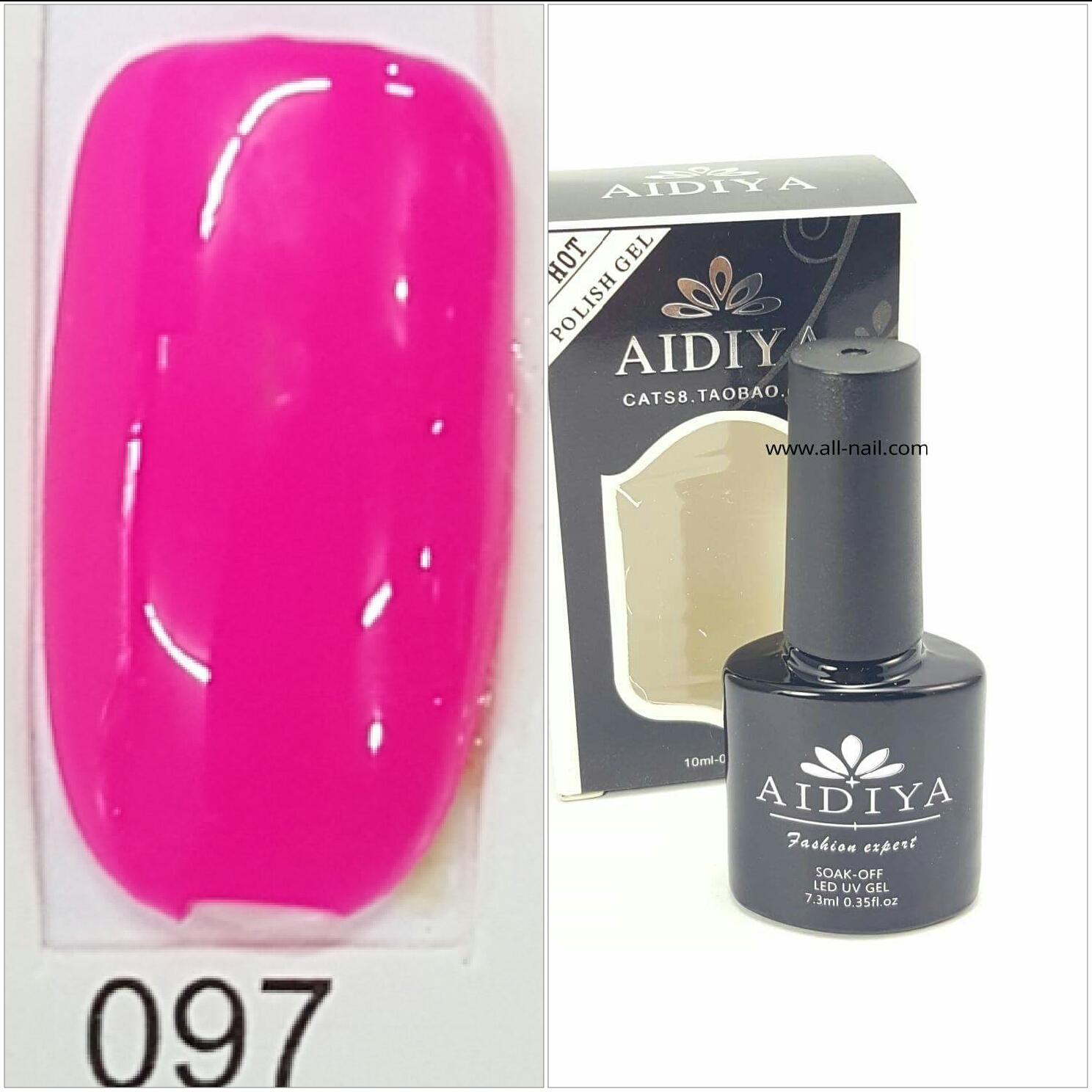 สีเจลทาเล็บ AIDIYA #097