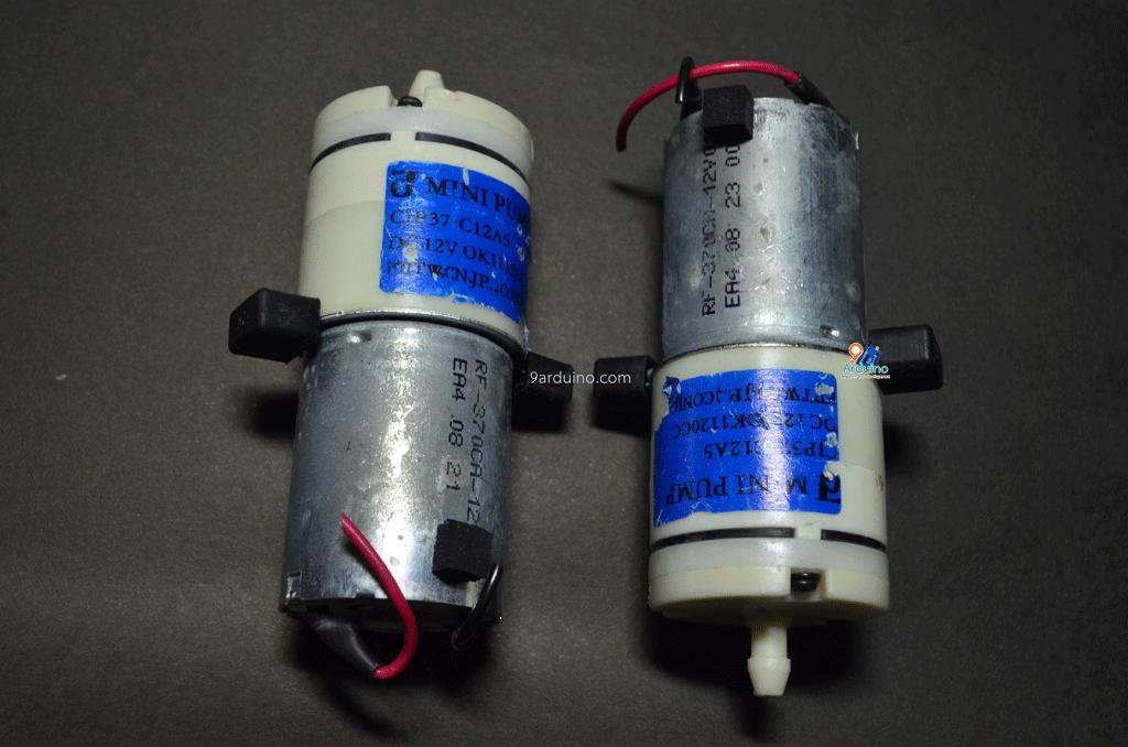 ปั๊มออกซิเจน DC Pump oxygen