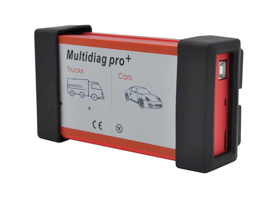 2015 Plastic suitcase Multidiag pro+ 2014.3 keygen software TCS CDP+ Car / Truck Diagnostic tool with 4GB