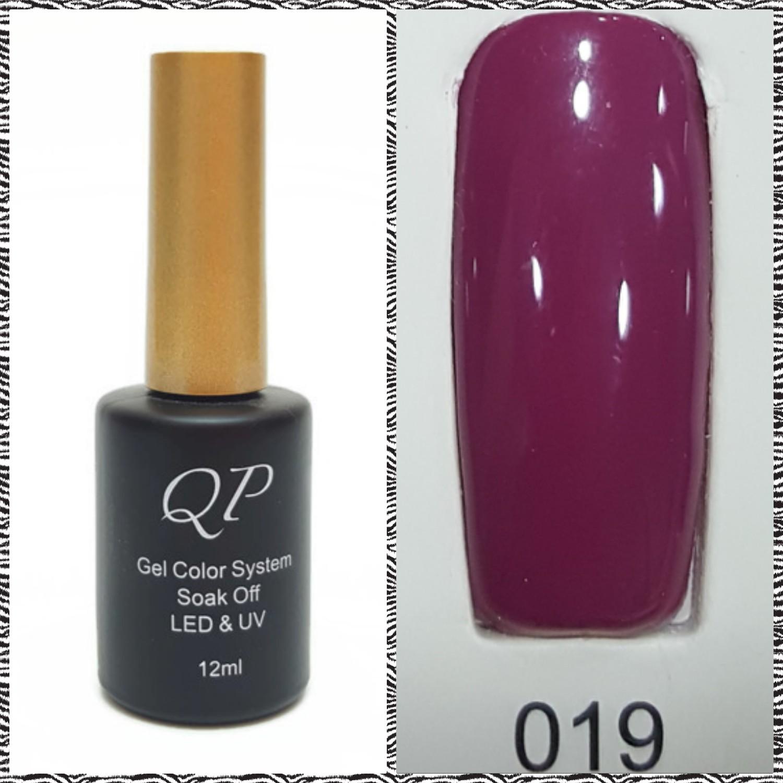 สีเจล QP 12ml. #019