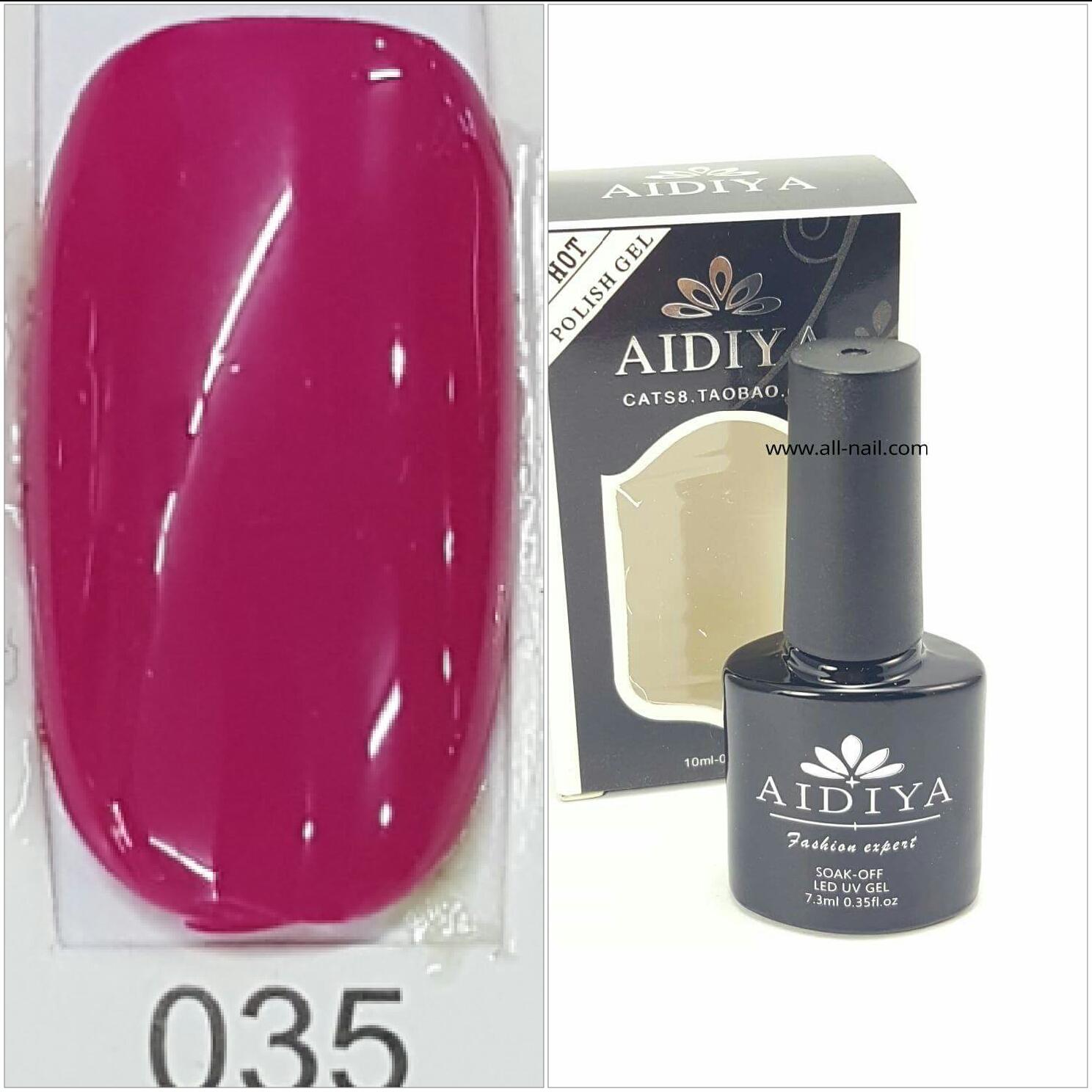 สีเจลทาเล็บ AIDIYA #035