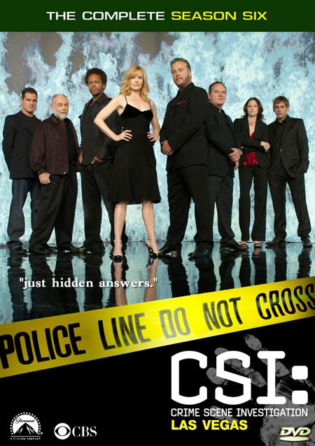 CSI: Vegas Season 6 / ไขคดีปริศนา เวกัส ปี 6 / 7 แผ่น DVD (พากษ์ไทย+บรรยายไทย)