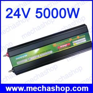อินเวอร์เตอร์ พร้อมระบบชาร์ทแบตเตอรี่สำรองไฟดับ Power Inverter uninterruptible power source 24V 5000W UPS