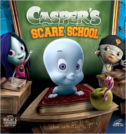 Casper's Scare School / แคสเปอร์ ผีน้อยเพื่อนรัก / 6 แผ่น DVD (พากย์ไทย+บรรยายไทย)