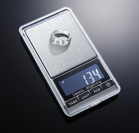 เครื่องชั่งดิจิตอล นับจำนวน เครื่องชั่งพกพา Pocket Scale 100g ความละเอียด0.01 New Design! จากโรงงานเกรด A ลดพิเศษเฉพาะเดือนนี้ เท่านั้น