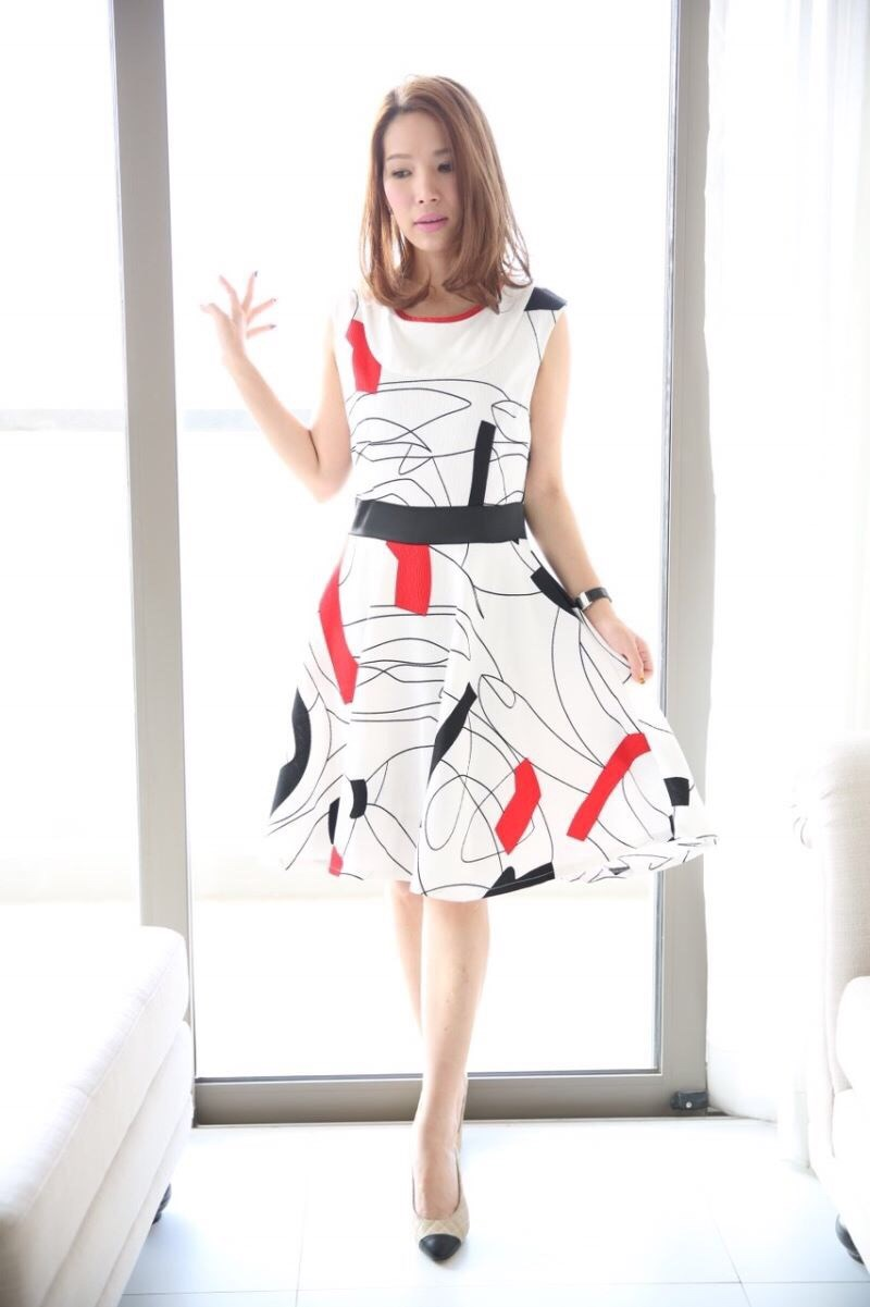 Cara wrinkled Dress