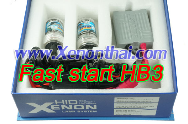 ไฟ xenon kit HB3 Fast start Ballast A6