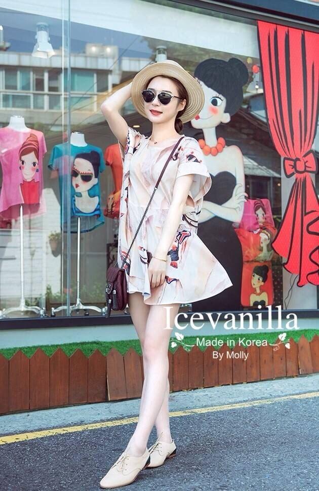 Nana summer print Dress