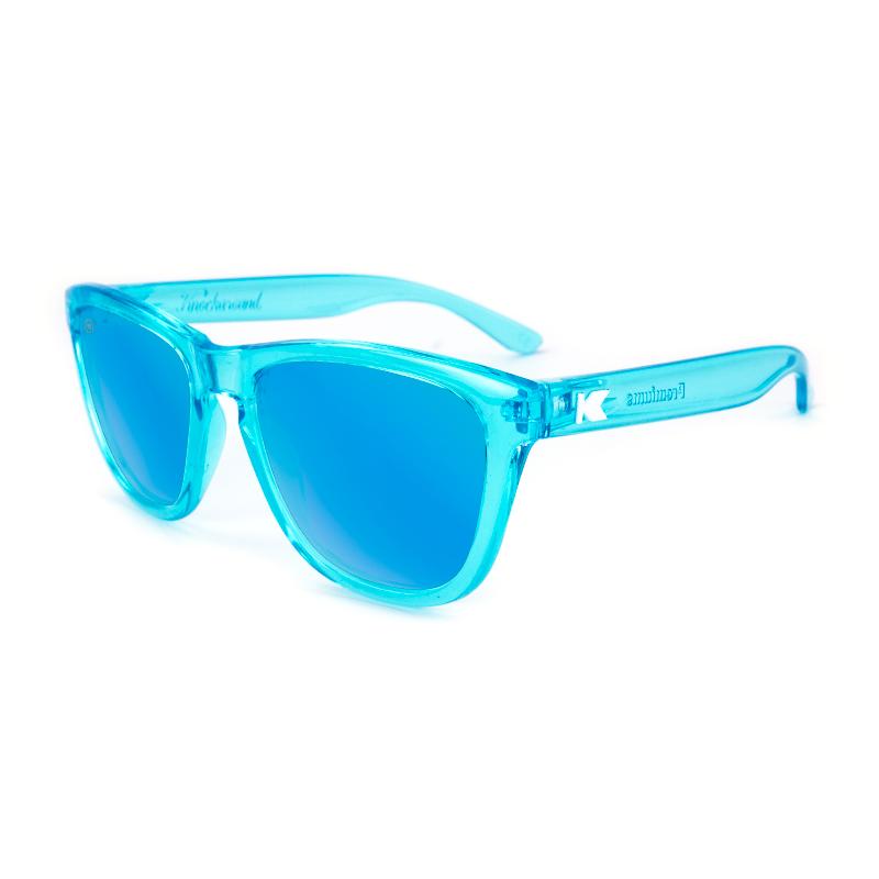 แว่น Knockaround Premiums Sunglasses - Blue Monochrome