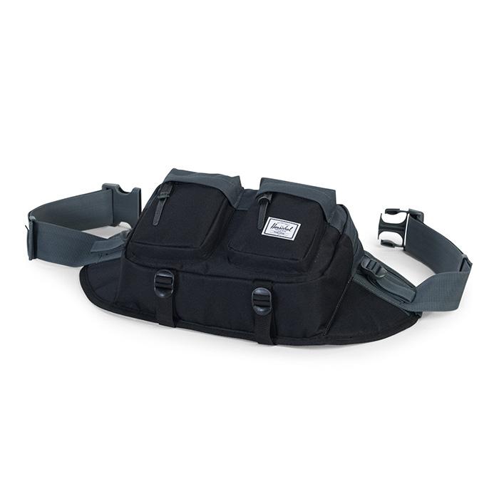 Herschel Eighteen Hip Pack - Black / Dark Shadow