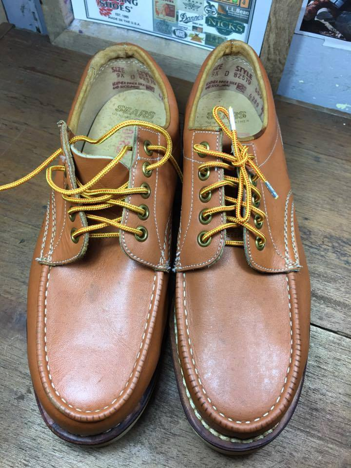 23.Vintage Sears oxford 1970's size 9.5D