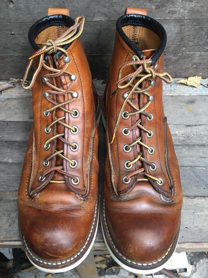 Redwing 2904 lineman size 7.5D