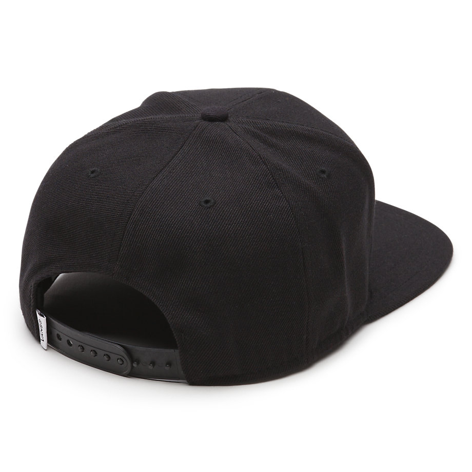 หมวก Vans Full Patch Snapback Hat - Black / White