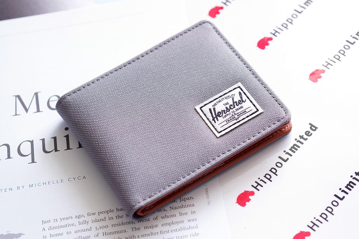 กระเป๋าสตางค์ Herschel Hank Wallet - Grey