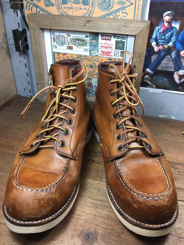 RED WING 875 made in USA size 8.5E