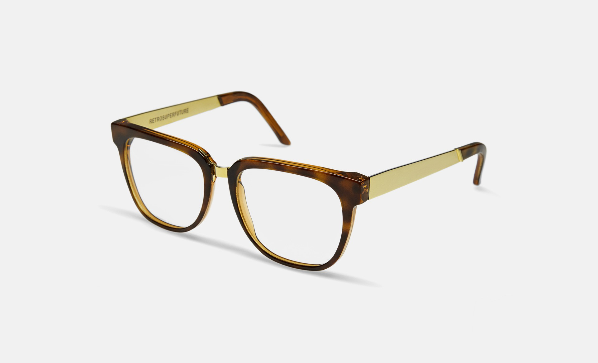 SUPER People Francis Optical Havana / Clear Lens (349)
