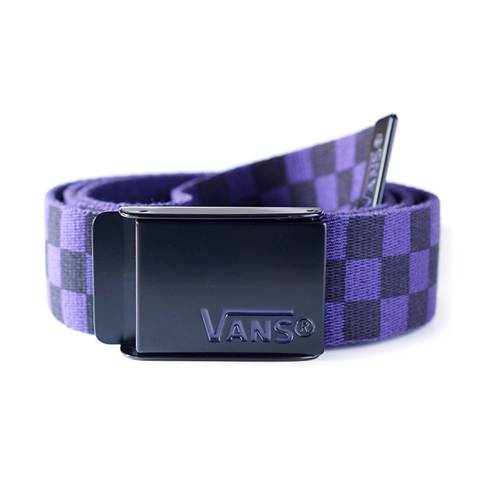 Vans Deppster Web Belt - Black / Purple