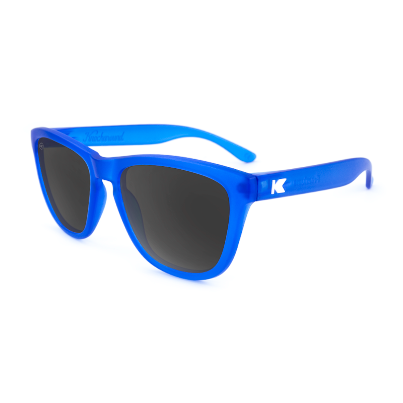 แว่น Knockaround Premiums Sunglasses - Frosted Cobalt Smoke