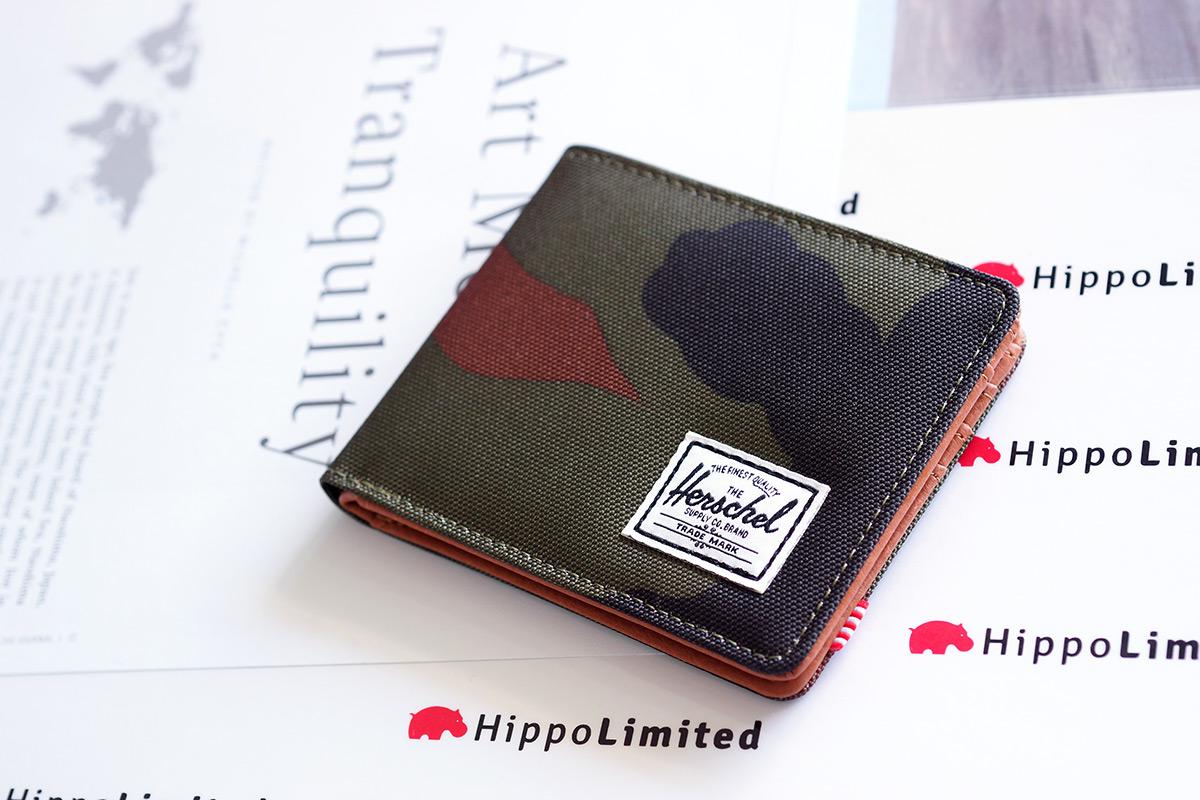 กระเป๋าสตางค์ Herschel Hank Wallet - Woodland Camo