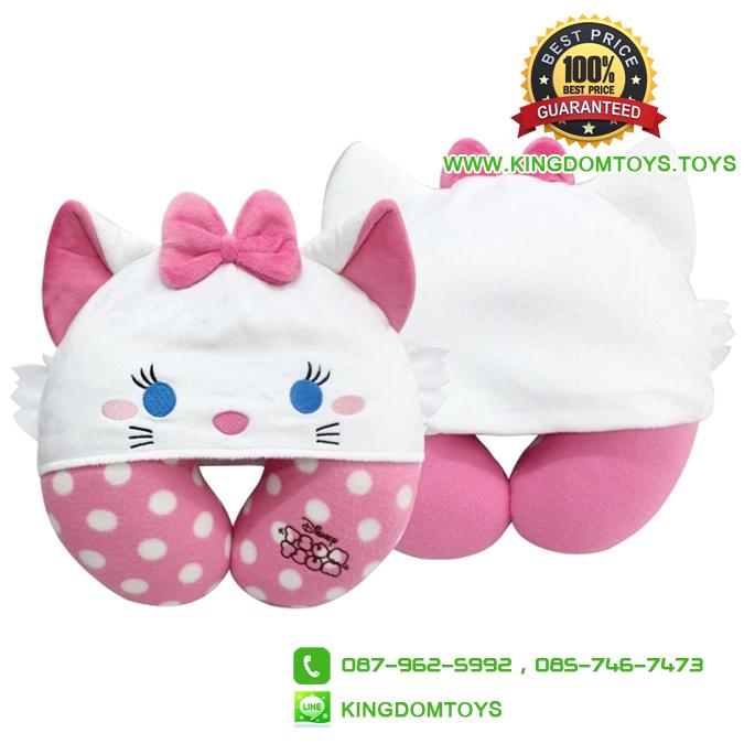 หมอนรองคอ แมวมารี Marie [Disney Tsum]
