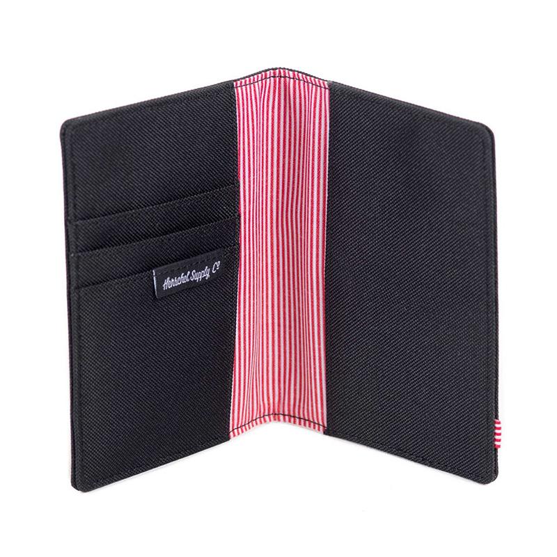 Herschel Raynor Passport Holder - Black