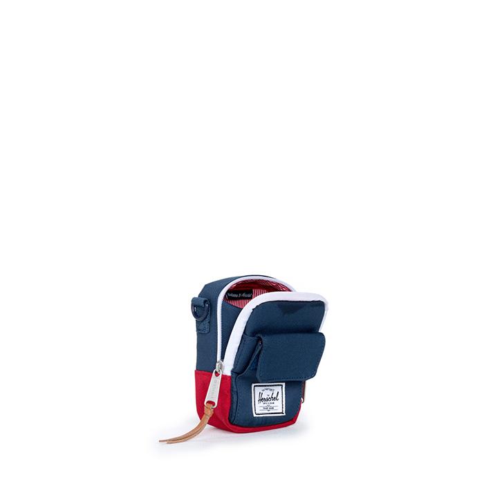 Herschel Ellison Tech Case - Navy/Red