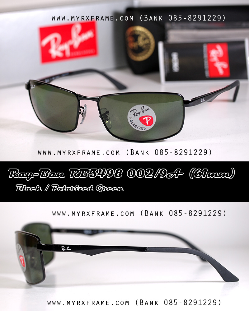 RayBan RB3498 002/9A (61mm)