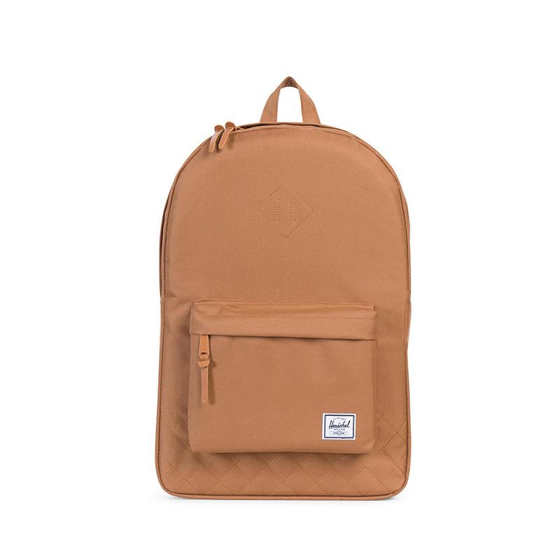 Herschel Heritage Backpack - Caramel Quilted