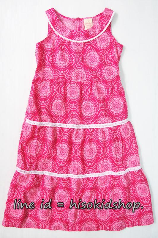 1803 Faded Glory Dress - Pink ขนาด 7-8 ปี