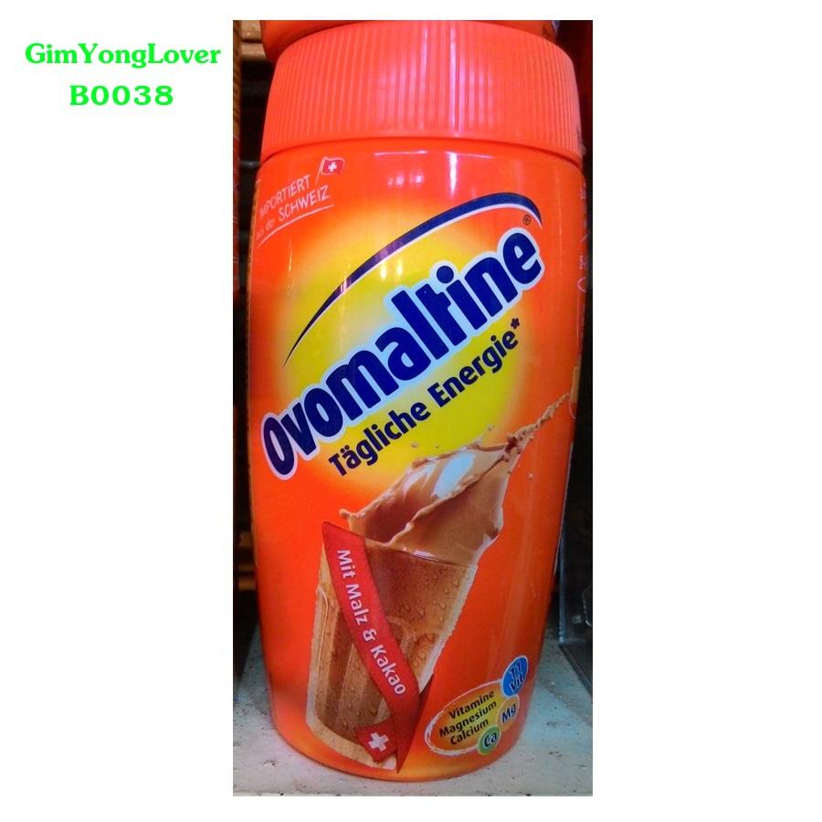 โอวัลตินรสชาติเข้มข้น (Ovomaltine Malt and Kakao Drink)