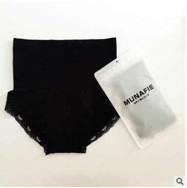 MUNAFIA กางเกงละลายไขมัน ลดหน้าท้อง สีดำ