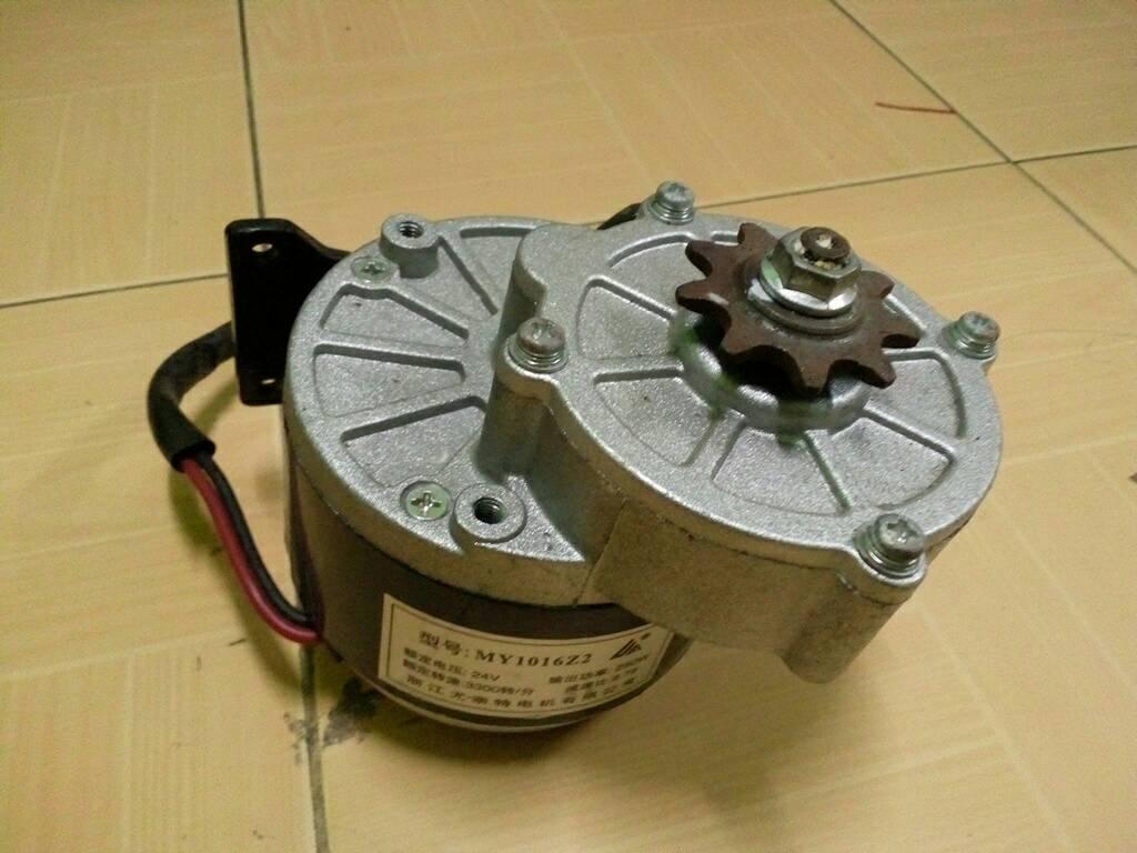 มอเตอร์จักรยานไฟฟ้า 24VDC 250W 3300RPM สินค้ามือ 2