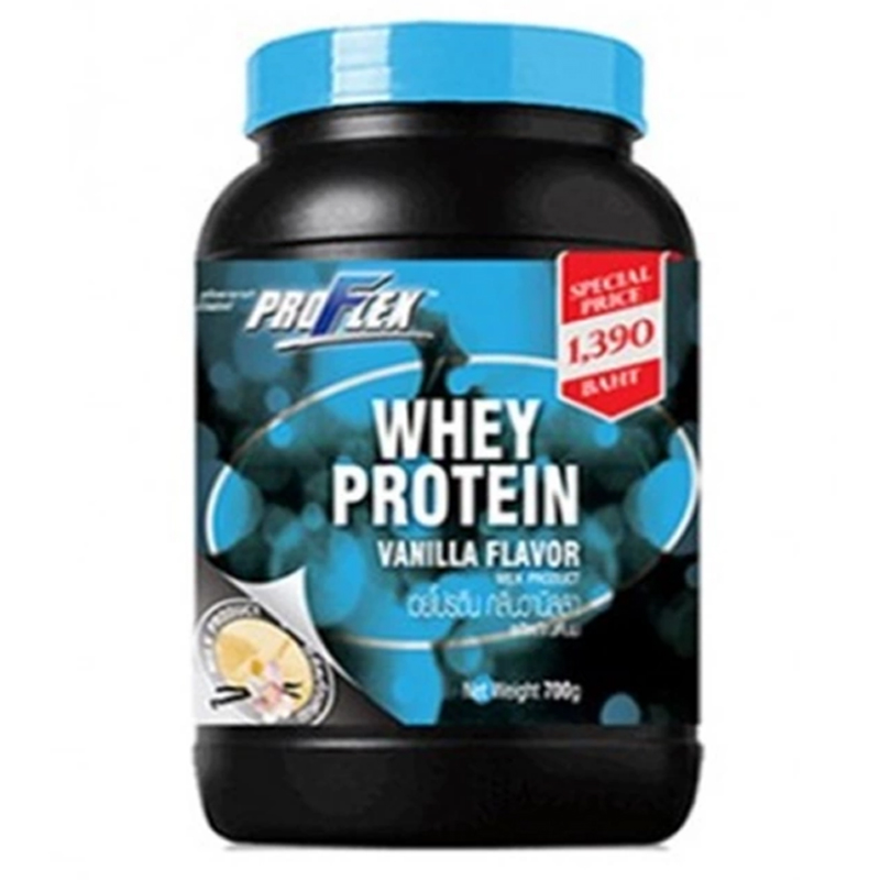 ProFlex Whey Protein Concentrate Vanilla 700 g. (สีฟ้า)