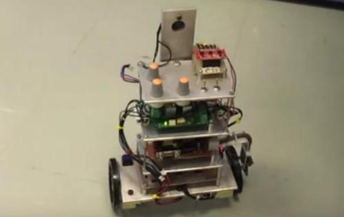 ชุดทดลองและปฏิบัติการ Mini Segway เพื่อการศึกษา