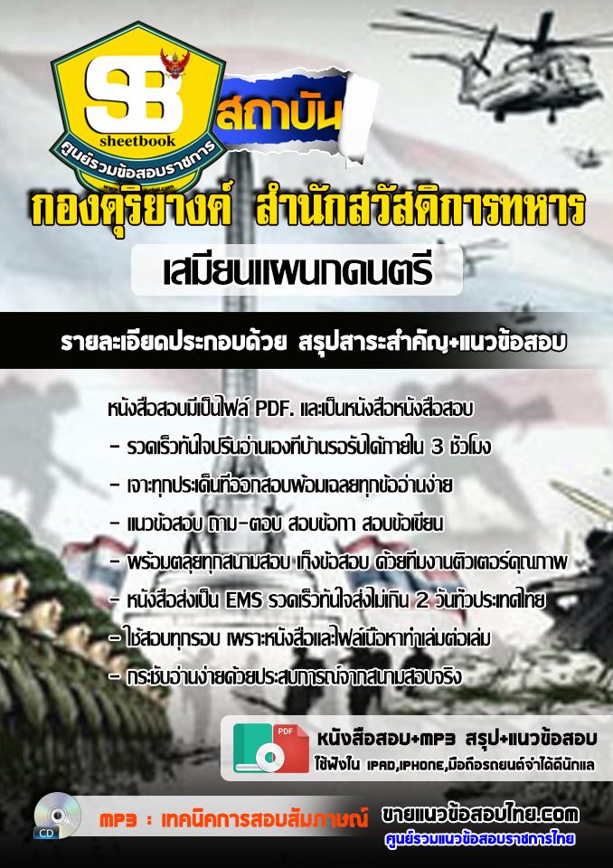 สรุปแนวข้อสอบเสมียนแผนกดนตรี กองดุริยางค์ สำนักสวัสดิการทหาร บก.กองทัพไทย