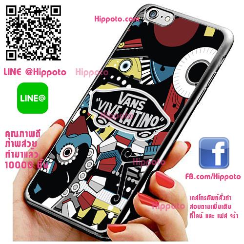 เคส ไอโฟน 6 / เคส ไอโฟน 6s โลโก้ Vans vive latino เคสสวย เคสโทรศัพท์ #1053