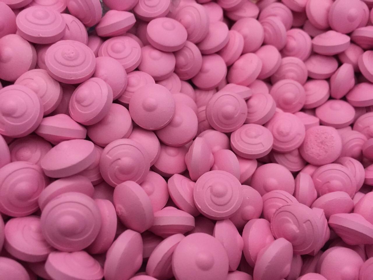 ยานมสูตรสีชมพูผสมฟีโรโมน (ชุดทดลอง)