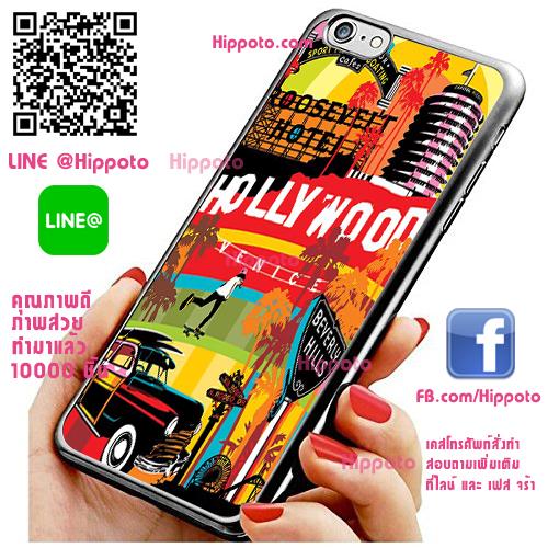 เคส ไอโฟน 6 / เคส ไอโฟน 6s โลโก้ Hollywood เคสสวย เคสโทรศัพท์ #1018